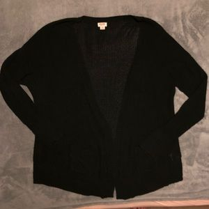 Mossimo Black Knot Cardigan Sweater- XXL